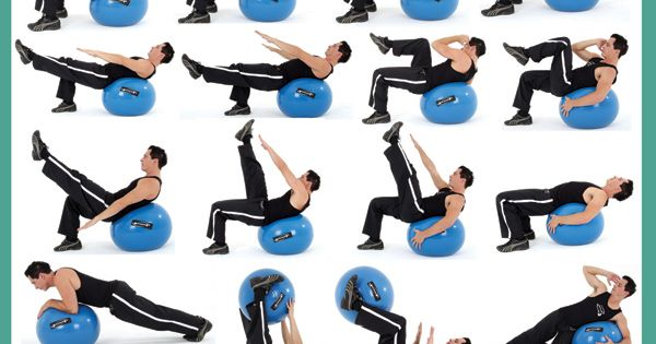 Ball workout for Abs. - Abs Workout absworkout abs fitness
