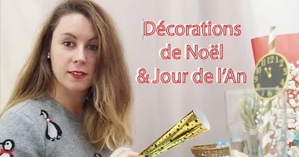 D corations de table pour no l et jour de l 39 an 2016 chez for Decoration jour de l an