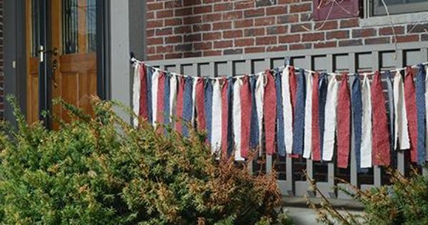 memorial day outdoor decorations