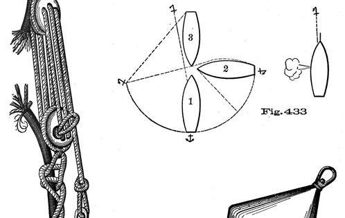 sail boat parts drawings
