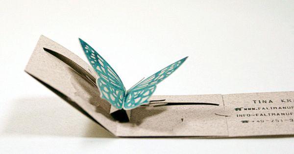 Gorgeous - Faltmanufaktur Unique Folding Business Card