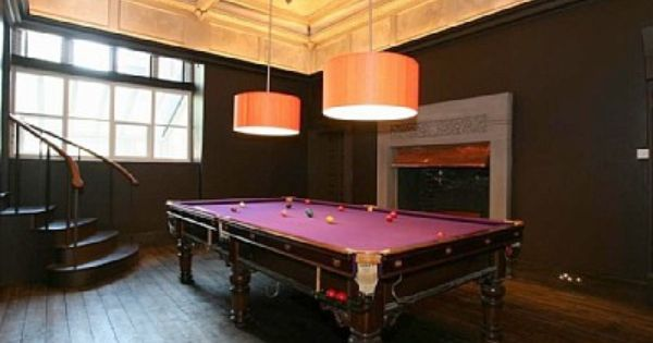 Snooker room game up your home palason billiards for Covent garden pool table