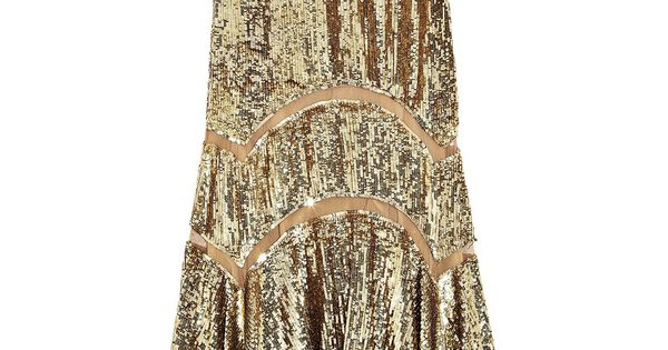 Michael Kors | Sequined midi dress - new year's eve party dress