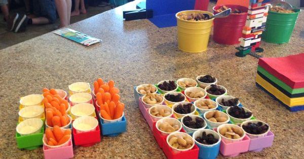 Ideas para servir la comida en una fiesta de cumplea os de for Servir comida