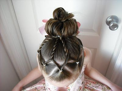 An Easter Dress And Fancy Easter Hair Hair Styles Little Girl Hairstyles Kids Hairstyles