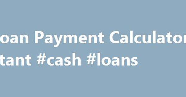 Rv Loan Payment Calculator Instant Cash Loans HttpPakistan