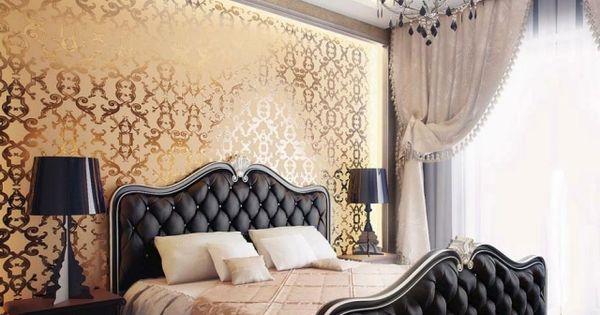 Chambre romantique 30 id es de d co classique et moderne for Interieur baroque moderne