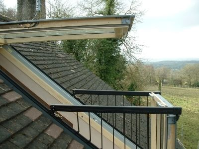 Velux Cabrio Balcony Roof Windows Attic Designs Attic Design Roof Window Attic Renovation