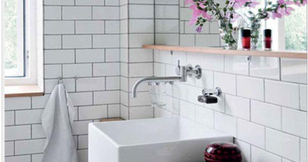 Carrelage salle de bain blanc joint gris sol noir et blanc for Impermeabiliser joints carrelage salle de bain