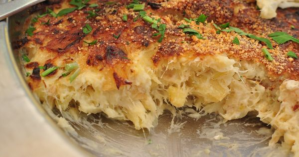 Bacalhau com natas portuguese salted cod fish baked with for Portuguese cod fish recipes