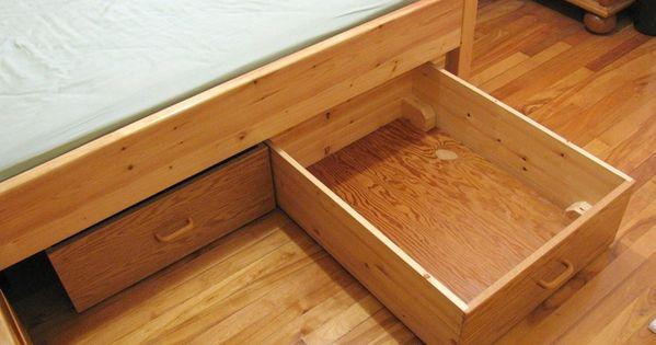 Cajoneras para aprovechar el espacio bajo cama cajones - Cajones bajo cama ...