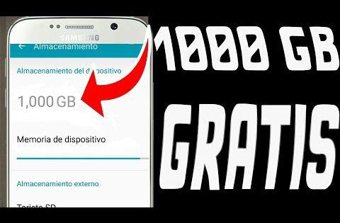 Por Fin Consigue 1000 Gb De Memoria En Cualquier Android 2018