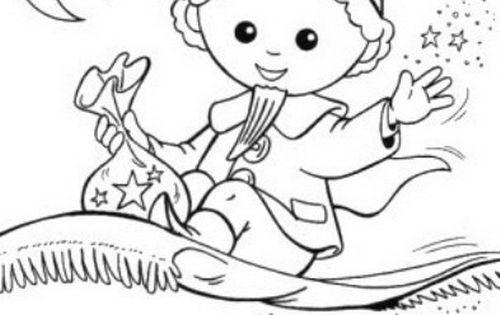sandmann mit schlafstaub ausmalbild  kinderrätsel