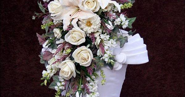 Wedding Flowers Warren Mi : Gorgeous white ivory mauve dusty lavender and sage
