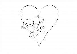 Heart Tin Punch Pattern Candlewicking Patterns Paper Embroidery Punched Tin Patterns