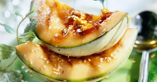 Grilled melon with caramelised walnuts | Recipe | Heroes, Seeds and ...