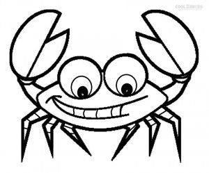 Crab Coloring Pages Free Printable Coloring Pages Simple Crab