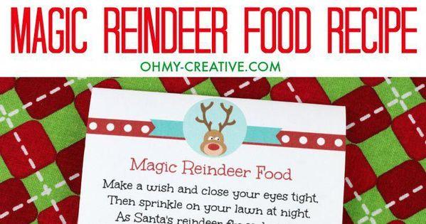 This Magic Reindeer Food Recipe Is Super Cute For Kids To Sprinkle