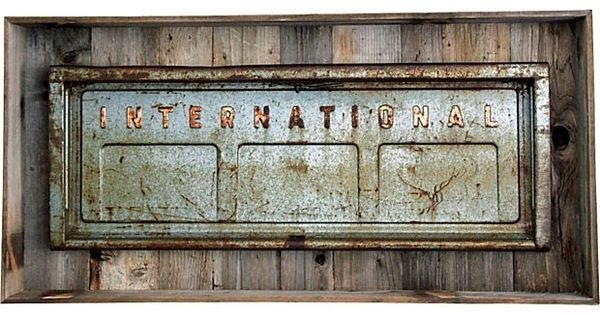 Inspiration classic international harvester pickup truck for International harvester wall decor