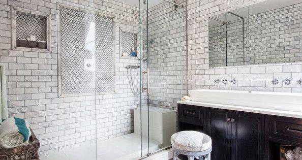 favorite bath trends of 2014 white subway tile bathroom