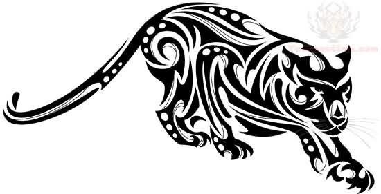 Tribal Jaguar Buscar Con Google Big Cat Tattoo Jaguar Tattoo Tattoos