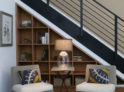 10 ideas para aprovechar el hueco de la escalera hueco for Aprovechar hueco escalera duplex
