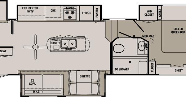 Rv Bunk Bed Plans 2 Ba Redwood Rv S Blackwood Luxury