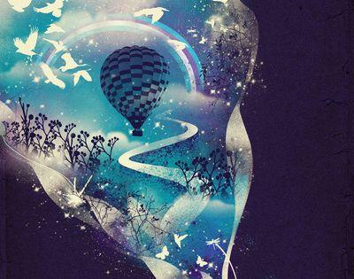 #Dream Big by Dan Elijah G. Fajardo via InspirationFeed illustration