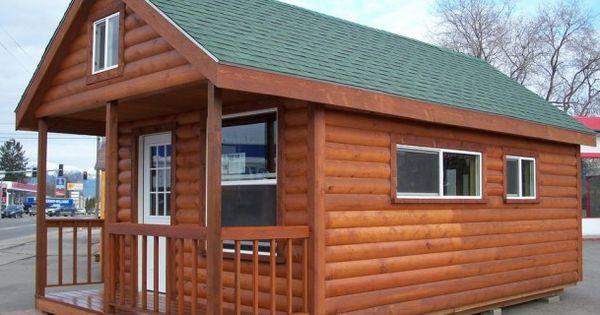 Cabin Love This Color Combo Cedar Siding White Windows