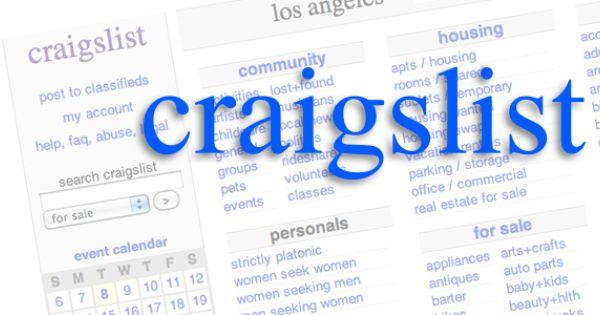 Can You Make Money On Craigslist Org Craigslist Craigslistmarketing Craigslist Advertising