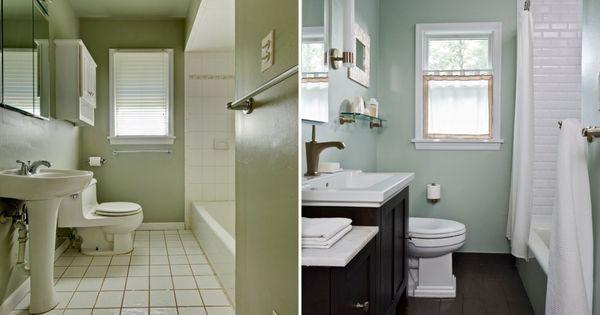 6 Elegant Bathroom Ideas For Compact Spaces: Elegant Small Bathroom Makeovers