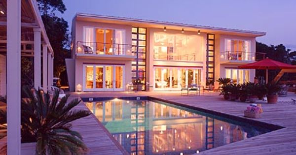 big mansions with pools on the beach