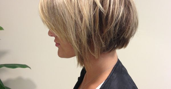 short layered haircut lowlights and bob done by allison wilson statesboro 9806 | a90c0de2e9806c86c988c91683778e8f