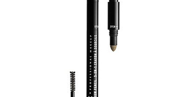 Nyx Professional Makeup 3 In 1 Brow Brows Nyx Cosmetics Nyx Makeup