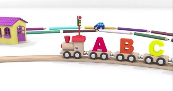أغنية الحرف الانجليزية الابجدية اى بى سى Abc مع القطار تعليم الاطفال اغانى الاطفال Kids Songs Abc Songs Training Songs