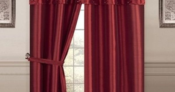 Living Room Curtains amazon living room curtains : Details about Luxury, PORTOFINO window curtain: jacquard Panel 84 ...