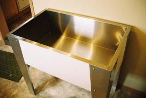 Stainless Steel Utility Sink Dog Bathtub Stainless Steel