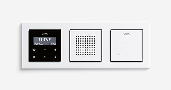 Gira Unterputz Radio Rds Badezimmer Radio Schalter Und Steckdosen Radios
