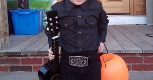 baby johnny cash costume!