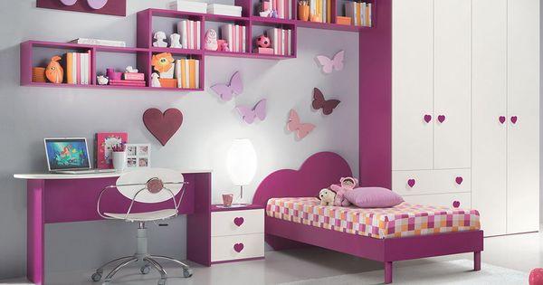 Decoracion habitacion infantil para ni a habitaciones - Habitaciones de ninos decoracion ...