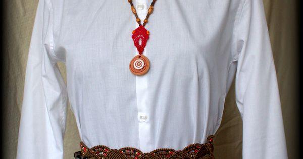 Boho sandals - #macrame #belt #macrame #necklace #clay #cabochon