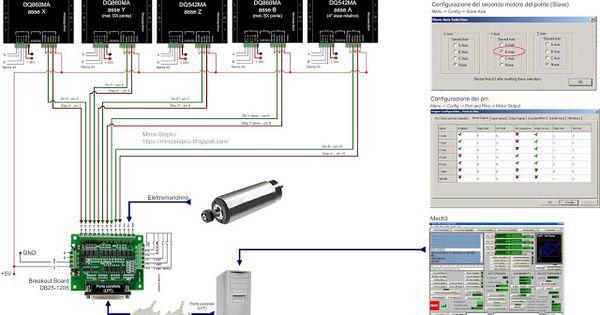 wiring db25 1205 dq860ma driver dq542ma driver cnc wiring db25 1205 dq860ma driver dq542ma driver cnc cnc