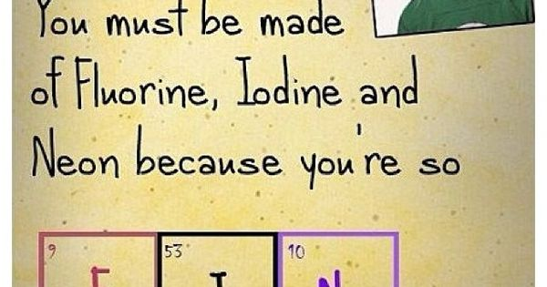 Chemistry jokes at their finest :)
