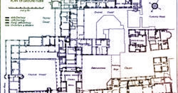 1800 S Early Floor Plan Of St James S Palace London Uk Suzilove Com St James S Palace Castle Floor Plan How To Plan