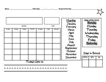 Saxon Math Meeting Calendar Pages 1st Grade Saxon Math Math Meeting Calendar Math