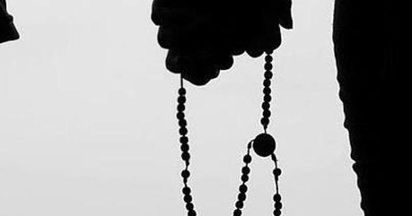 Manos Juntas Orando Con Rosario Oraciones Manos Orando Parejas