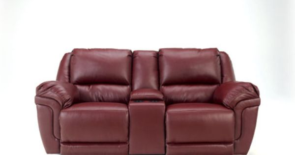 Magician Durablend Garnet Glider Rec Loveseat W Console Love Seat Recliner Royal Furniture