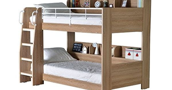 Happy Beds Domino White Finished Sleep Station Childrens Kids Bunk