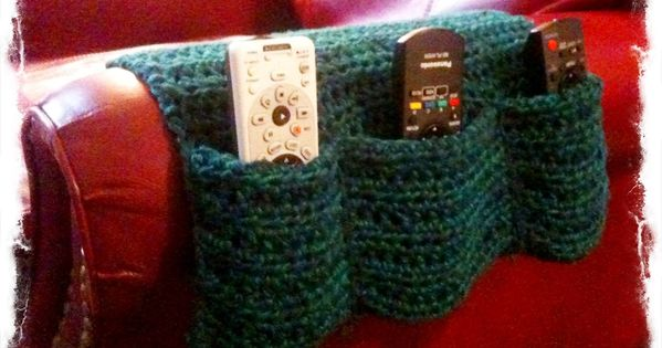 Arm Chair Remote Caddy Crochet Pinterest Armchairs