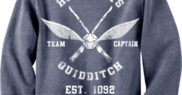 Harry Potter Quidditch Team Captain Sweater
